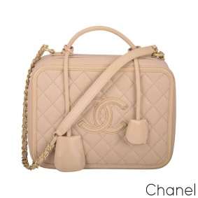 Chanel Large Vanity case Handbag